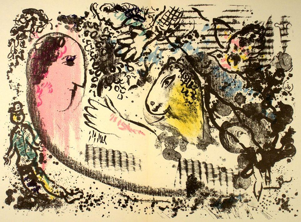 Illustrated Book Chagall - Derriere e Miroir n.°182