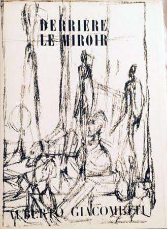 Lithograph Giacometti - Derriere Le Miroir- Alberto Giacometti