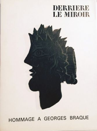 Lithograph Braque - Derriere Le Miroir-Homage a Charles Braque