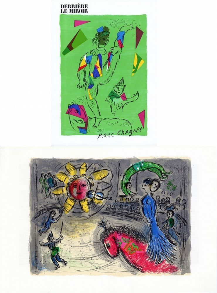 Lithograph Chagall - Derriere le Miroir 235, edition de Luxe, numbered