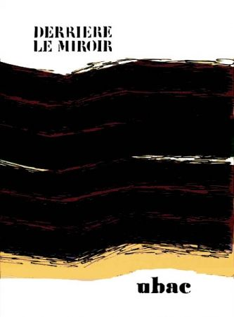 Illustrated Book Ubac - Derriere Le Miroir N°196