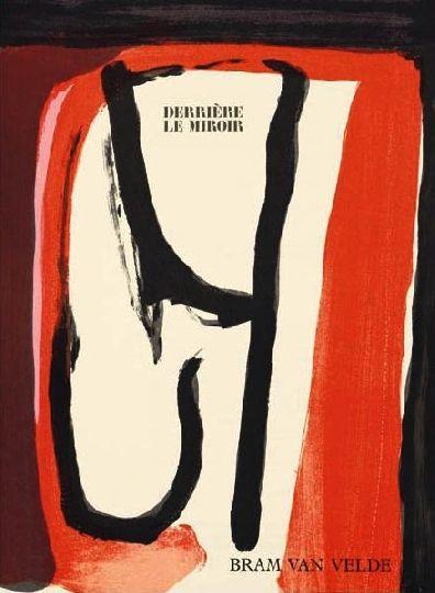 Illustrated Book Van Velde -  Derriere Le Miroir N°240