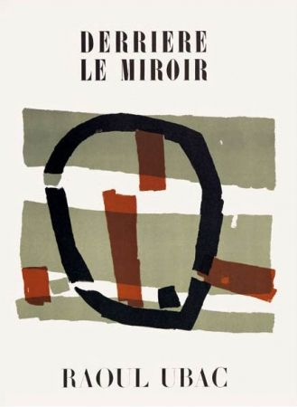 Illustrated Book Ubac - Derriere Le Miroir N°34