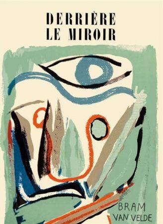Illustrated Book Van Velde - Derriere Le Miroir N°43