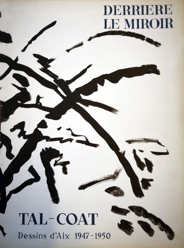 Illustrated Book Tal Coat - Derriere le Miroir n. 120