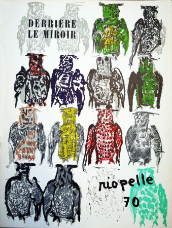 Illustrated Book Riopelle - Derriere le Miroir n. 185