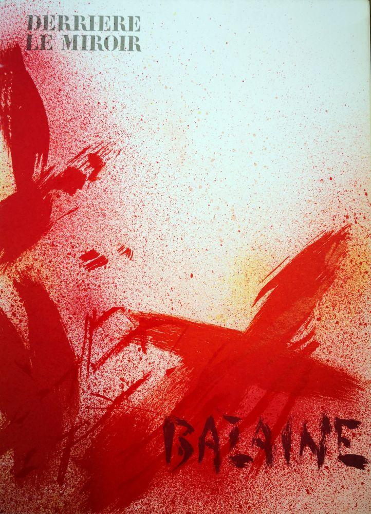 Illustrated Book Bazaine - Derriere le Miroir n. 215