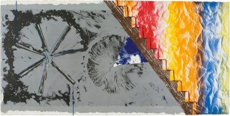 Lithograph Rosenquist - DERRIERE L'ETOILE