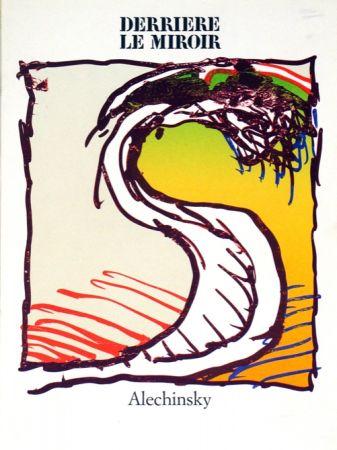 Lithograph Alechinsky - Derrierre le Miroir