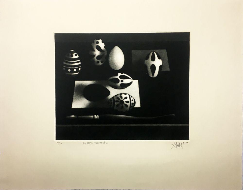 Mezzotint Avati - Des œufs pour ta fête (1960)