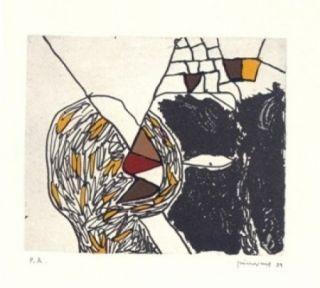 Etching Guinovart - Des De Loca-Marge