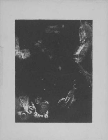 Lithograph Redon - Des peuple divers...