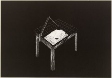 Lithograph Komatsu - Desapropriaçâo 1