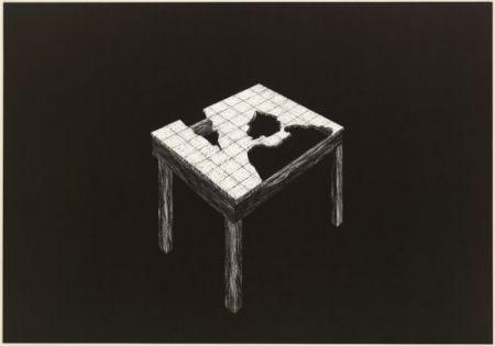 Lithograph Komatsu - Desapropriaçâo 2