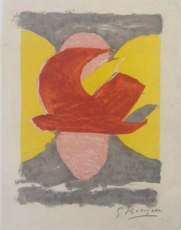 Lithograph Braque - Descente aux enfers