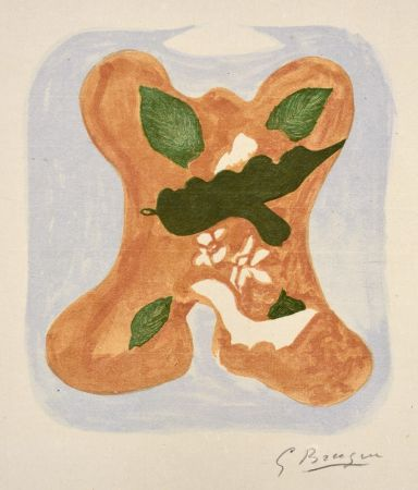 Lithograph Braque - Descente aux enfers planche 2