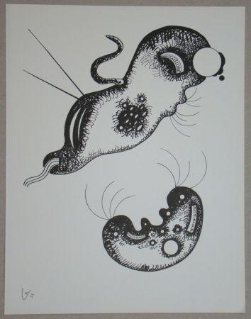 Lithograph Kandinsky - Dessin à la plume, 1933