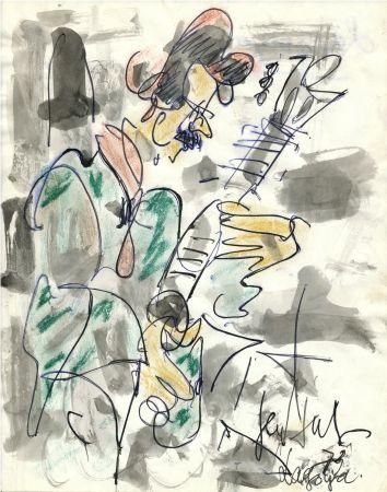 No Technical Paul  - Dessin Original / Original Drawing - ALEXANDRE LAGOYA - Portrait