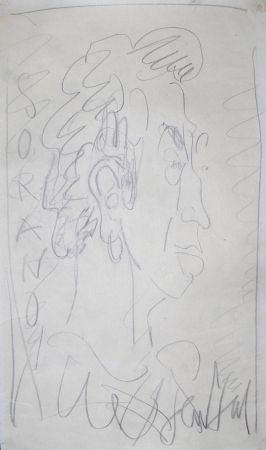 No Technical Paul  - Dessin Original / Original Drawing - DANIEL SORANO - Portrait