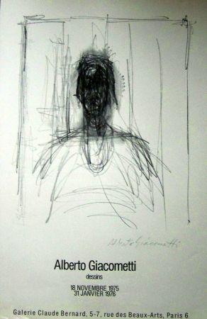 Poster Giacometti - Dessins