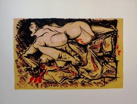 Lithograph Masson - Dessins érotiques - 20 lithographies