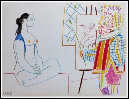 Lithograph Picasso (After) - DESSINS DE VALLAURIS