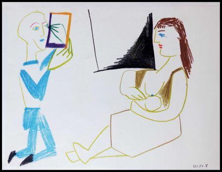 Lithograph Picasso (After) - DESSINS DE VALLAURIS II
