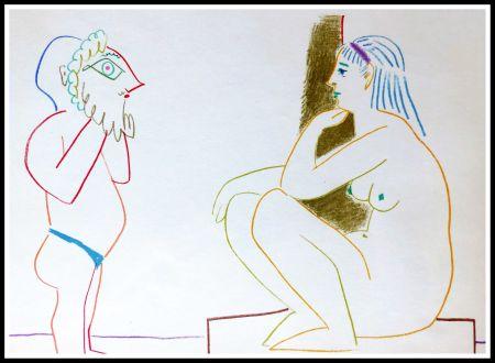 Lithograph Picasso (After) - DESSINS DE VALLAURIS III