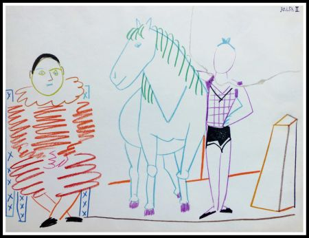Lithograph Picasso (After) - DESSINS DE VALLAURIS IV