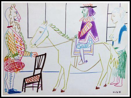Lithograph Picasso (After) - DESSINS DE VALLAURIS V