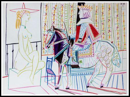 Lithograph Picasso (After) - DESSINS DE VALLAURIS VI