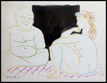Lithograph Picasso (After) - DESSINS DE VALLAURIS XI