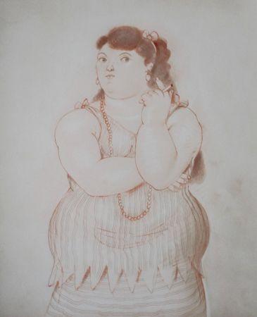 Lithograph Botero - Dessins et Aquarelles (2)