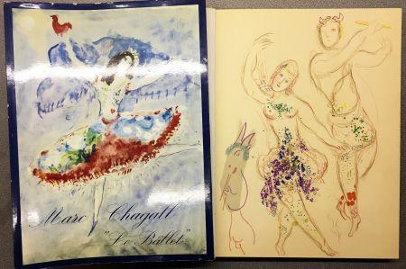 Lithograph Chagall - DESSINS ET AQUARELLES POUR LE BALLET