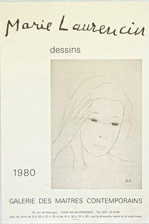 Poster Laurencin - Dessins  Galerie des Maitres Contemporains