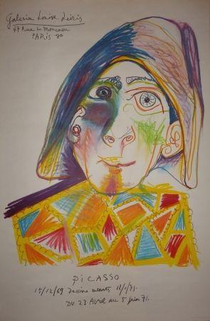 Lithograph Picasso - Dessins récents - Louise Leiris 1971