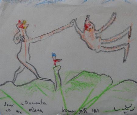 No Technical Matta - Deux astronautes et un oiseau
