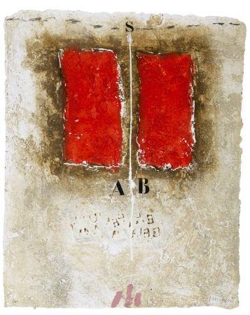 Carborundum Coignard - Deux rouges