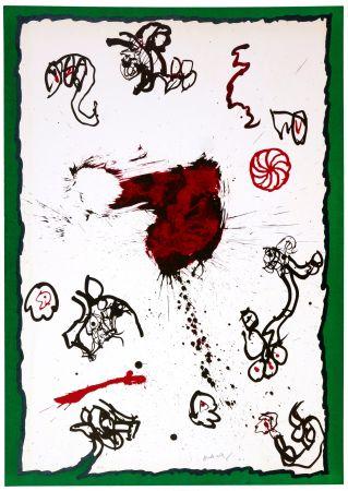 Lithograph Alechinsky - Deuxième