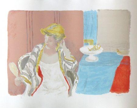 Lithograph Brianchon - Devant le miroir