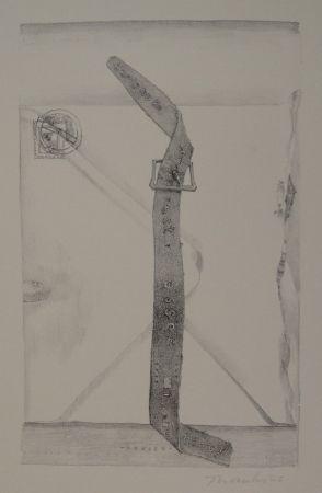 "Lithograph Thomkins - ""devise"""