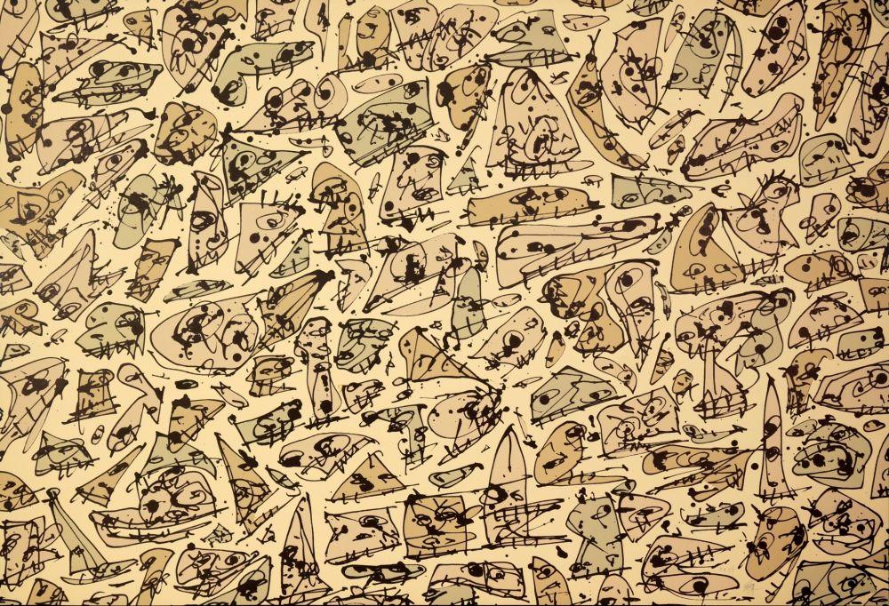 Lithograph Saura - DIADA III