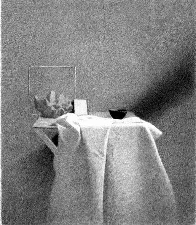 Lithograph Ferroni - Diagonale D'ombra I