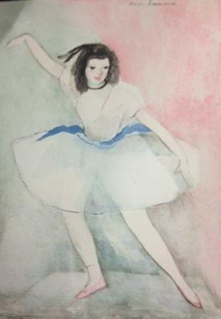 Engraving Laurencin - Dialogue sur la danse
