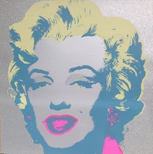 Screenprint Warhol (After) - Diamond Marilyn (by Sunday B. Morning)