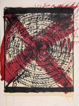 Lithograph Tàpies - Diana