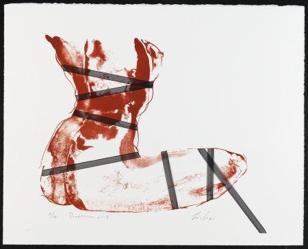 Lithograph Mizutani - Diaphane