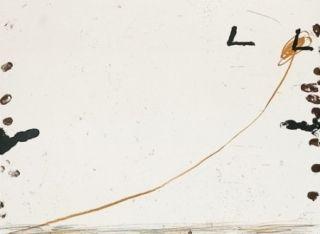 Lithograph Tàpies - Dib-1
