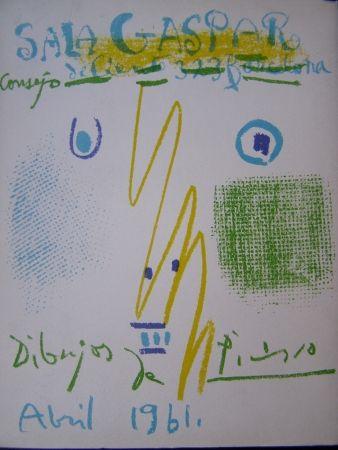 Lithograph Picasso - DIBUJOS PICASSO ABRIL 1961