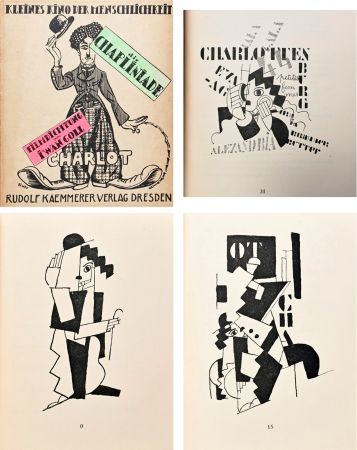 Illustrated Book Leger - DIE CHAPLINIADE (Filmdictung von Iwan Goll) 1920..